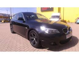 2008 bmw 523i used bmw 5 series 2008 black paint petrol 523i m sport saloon for
