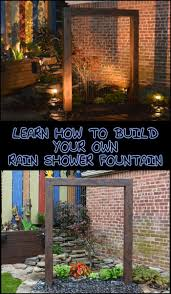 Patio Fountains Diy by 638 Best Outdoor Living Images On Pinterest Gardening Outdoor