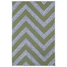 Yellow Chevron Outdoor Rug 7 X 9 Outdoor Rugs Rugs The Home Depot