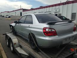 wrx subaru grey 2004 subaru impreza wrx sedan 5 speed full part out