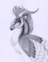 persian griffin by verreaux on deviantart