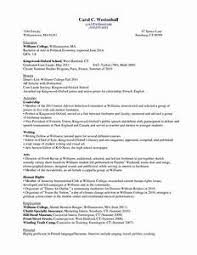 college student resume sle resume format for college students a sle resume for a