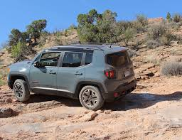 moab jeep trails i drove the 2015 jeep renegade through 60 miles of rugged moab
