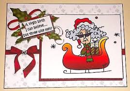 humorous christmas cards handmade greeting card 3d humorous christmas card with stella