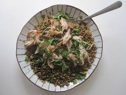 cuisiner le maquereau salade toute simple lentilles tièdes et maquereau fumé tortore