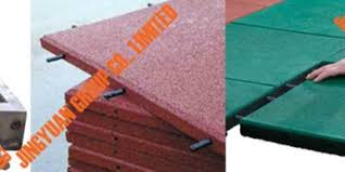 Interlocking Rubber Floor Tiles Interlocking Rubber Tile Mold Used Tire Recycling