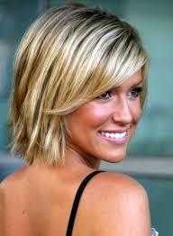 easy care short hairstyles for fine hair hair style pinterest