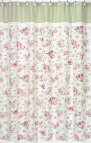 Kids Fabric Shower Curtain - riley u0027s roses kids bathroom fabric bath shower curtain only 39 99