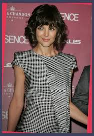 katie holmes layered bob haircut pictures intended for hairstyles