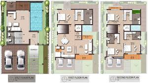 Luxury House Plans With Pools House Floor Plan Philippines House Floor Plan Design Modern Zen House