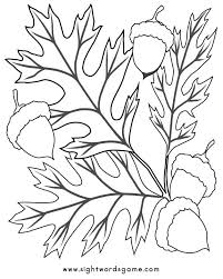 autumn coloring pages autum jump stack dry leaves