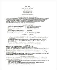 Network Administrator Resume Sample by Professional It Resume Templates 24 Free Word Pdf Documents