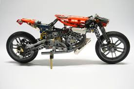lego porsche minifig scale lego ideas technic cafe racer