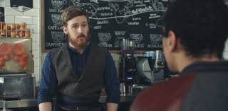 mcdonalds uk monopoly commercial actress mcdonald s spoofs hipster coffee culture in new mccafe commercial