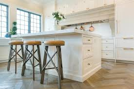 White Wooden Bar Stool White Center Island With Backless Round Wood And Leather Bar