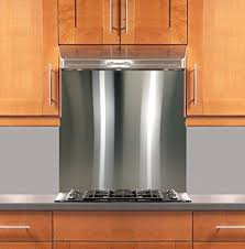 kitchens with stainless steel backsplash amazon com stainless steel backsplash 30 x 36 304 4 hemmed
