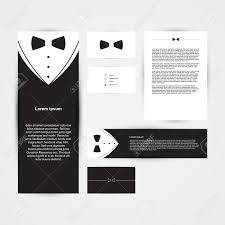 Business Card Invitation Invitation Template Black Design With Bow Tie Business Card