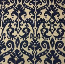 ballard designs venice ikat navy blue cream designer fabric by the ballard designs venice ikat navy blue cream designer fabric by the yard 55