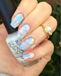 gorgeous opal paint job alternative nail art pinterest opal