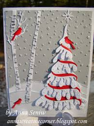 christmas cards themed a peek inside the creative corner another nature themed christmas