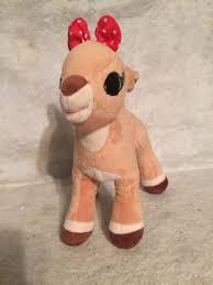 rudolph red nosed reindeer girlfriend clarice plush stuffed 12