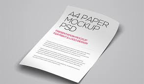 a4 paper psd mockup template u2013 37 free psd indesign formats