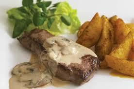 turkey mushroom gravy recipe details steak with stilton and mushroom sauce recipe goodtoknow