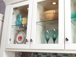 Glass Doors For Kitchen Cabinets - kitchen cabinets with glass doors on both sides home design ideas