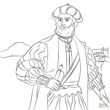 vasco da gama coloring page free printable coloring pages