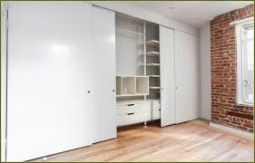 Customized Closet Doors Three Panel Sliding Closet Doors