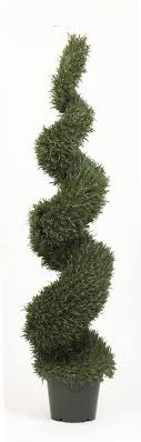 artificial topiary trees spiral topiary 6 rosemary leaf