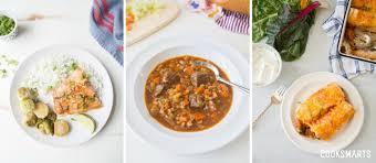 meal plan menu week of 11 20 17 thanksgiving week cook smarts