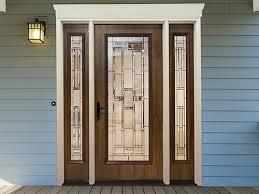 Exterior Door With Window Mastercraft Doors