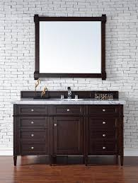 bathroom vanity cabinet no top abstron contemporary 60 inch single bathroom vanity mahogany finish