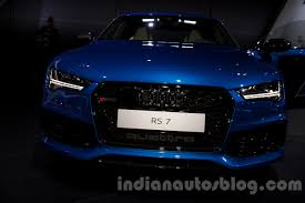 audi rs7 front 2015 audi rs7 front at the moscow motorshow 2014 indian autos