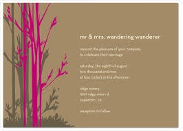 post wedding reception wording exles wedding guest list etiquette invitation wording if you re already