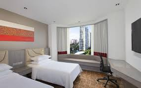 Twin Bedroom Hotel Four Points Accommodation Premium Twin Room Four Points By