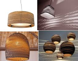 Cardboard Pendant Light Cardboard Furniture U2013 Surprisingly Strong And Unexpectedly Stylish