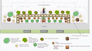 Garden Layout Template by Landscape Design Using Ms Office Central Texas Gardening