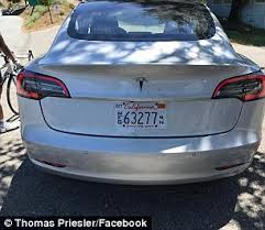 tesla model 3 u0027s radical single screen dashboard revealed daily