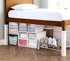 bed frame riser ultimate height bed risers carbon steel white bed