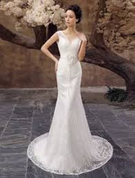 milanoo robe de mari e pas cher backless bohème robes de mariée avec ruban 2015 la mode