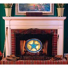 licensed mlb fireplace screen 27999 sports fan gifts at