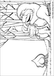wild coloring picture