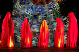 Fine Art Lighting Fixtures by Light Art Festival Of Lights Berlin Guardians Of Time Manfred