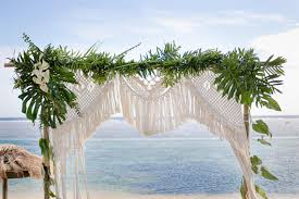 wedding backdrop australia macrame wedding arch hire domoni macrame