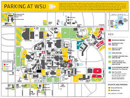 map in shocker parking wichita state