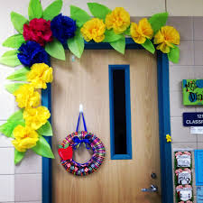 spring door decoration www firstgradeshashay com bulletin boards
