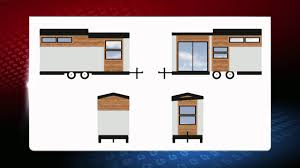 des moines company builds tiny home in three days whotv com