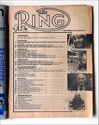 the ring magazine september 1980